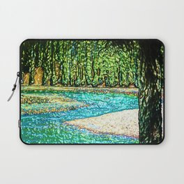 A River Through the Trees Laptop Sleeve