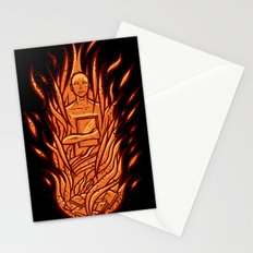 fahrenheit 451 - bradbury red variant Stationery Cards