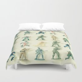 Broken Army Duvet Cover