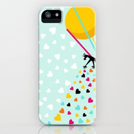 Keep spreading the love iPhone Case