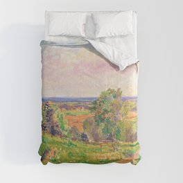 Spencer Gore - An Extensive Landscape in Yorkshire - Digital Remastered Edition Comforters