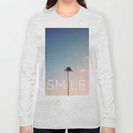 Palm tree Smile Long Sleeve T-shirt