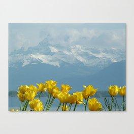 Montreux, Switzerland Canvas Print