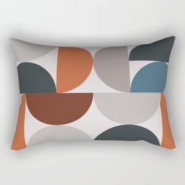Mid Century Modern Geometric 25 Rectangular Pillow