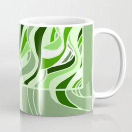 Swell Green Monochrome Coffee Mug