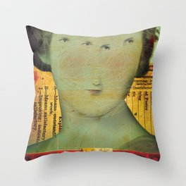 Unsatisfactory Throw Pillow