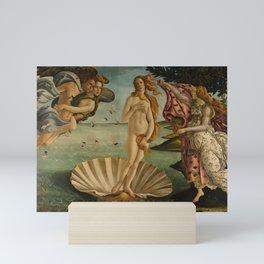 The Birth of Venus, 1483-1485 by Sandro Botticelli Mini Art Print