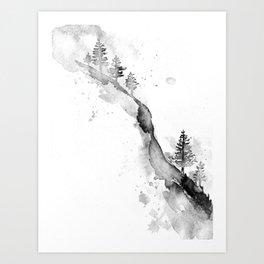 Zen Landscape Art Print