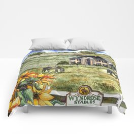The Horse Ranch Comforters
