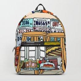 Arizona Flagstuff Diner Backpack