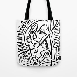 Controlling the Waves Tote Bag