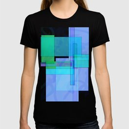 Squares combined no. 4 T-shirt