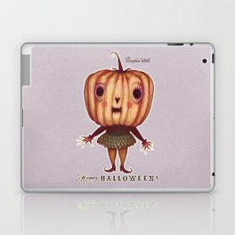 Pumpkin Witch Laptop & iPad Skin