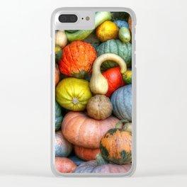 Fall crop Clear iPhone Case