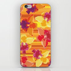 Fluor Flora - Arancio iPhone & iPod Skin