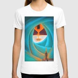 Square Leaking Sun T-shirt
