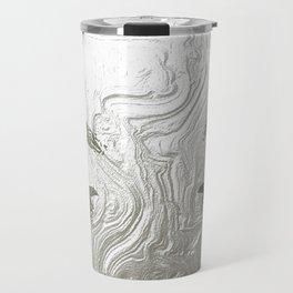 Silver and lashed glam Travel Mug