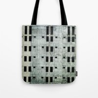 building Tote Bags featuring Building by Sumii Haleem