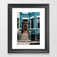 At Your Doorstep Framed Art Print