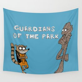 Guardians of the Park Wall Tapestry