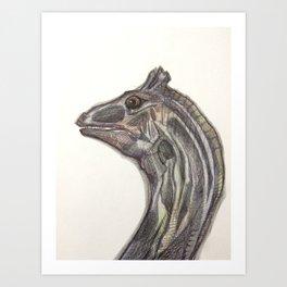 The Water Horse Art Print