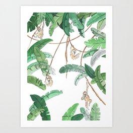 junglebook Art Print