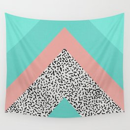90s Chevron Wall Tapestry