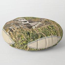 HIMALAYAN FOOTHILLS VILLAGE NEAR BHOTECHAUR NEPAL Floor Pillow