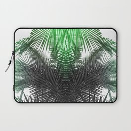 green and gray fern Laptop Sleeve