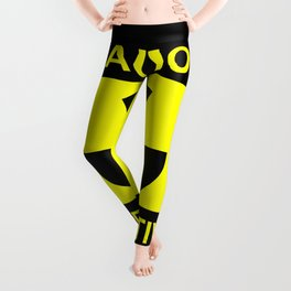 Caution Radioactive Leggings