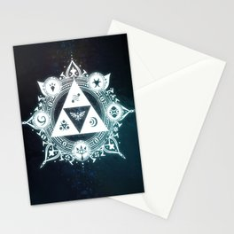 The triforce Power Stationery Cards