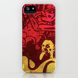 Psychedelic Miklo iPhone Case