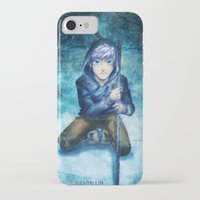jack frost iPhone & iPod Cases featuring Jack frost by keiden
