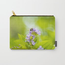 Blue-banded Bee Carry-All Pouch