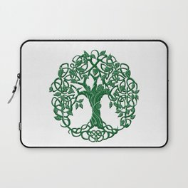 Tree of life green Laptop Sleeve