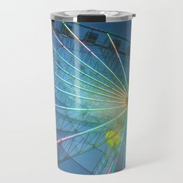 You spin me round round' Travel Mug
