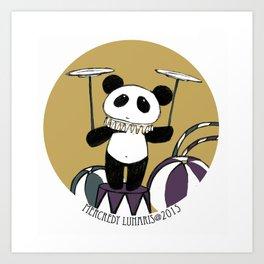 Blythe Circus  ♥★☾ Panda ☽★♥ Art Print