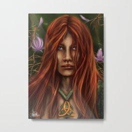 Vedis Elf Metal Print