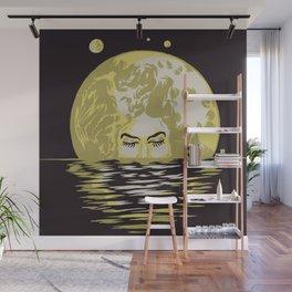 Miss Moonlight Wall Mural