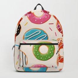 Colorful Donut Design Backpack