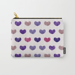 Cute Hearts VIII Carry-All Pouch