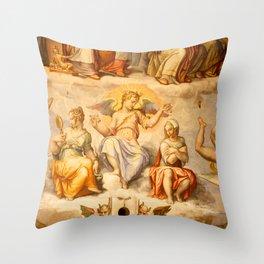 Brunelleschi Cupola in Florence Throw Pillow