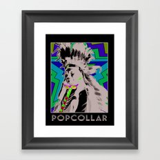 PopCollar W/JMR1 Framed Art Print