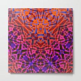Ethnic Tribal Pattern G316 Metal Print