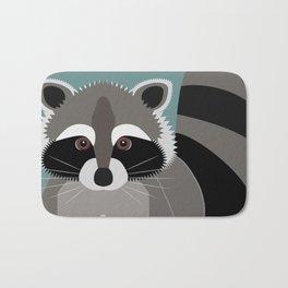 Raccoon Rascal Bath Mat
