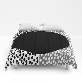 Drops B&W Comforters