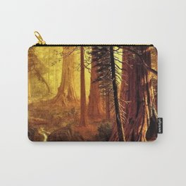 Giant Redwood Trees of California by Albert Bierstadt Carry-All Pouch