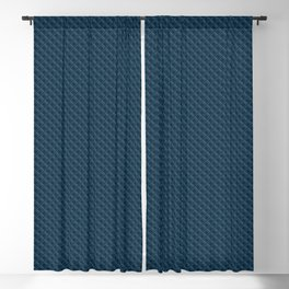 Diamond 3D Regent Blue Blackout Curtain