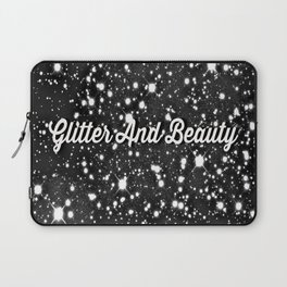 Glitter And Beauty Laptop Sleeve