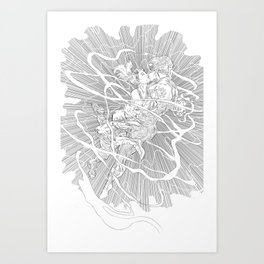 DeadNemo's Shotgun and Capulet Art Print